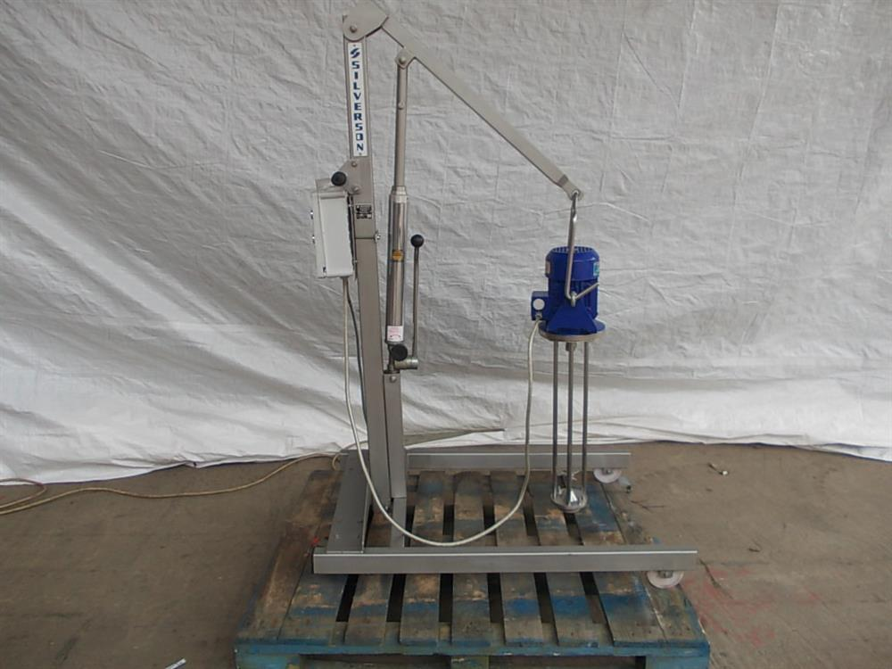 SILVERSON 316 Stainless Steel High Shear Mixer and Stand