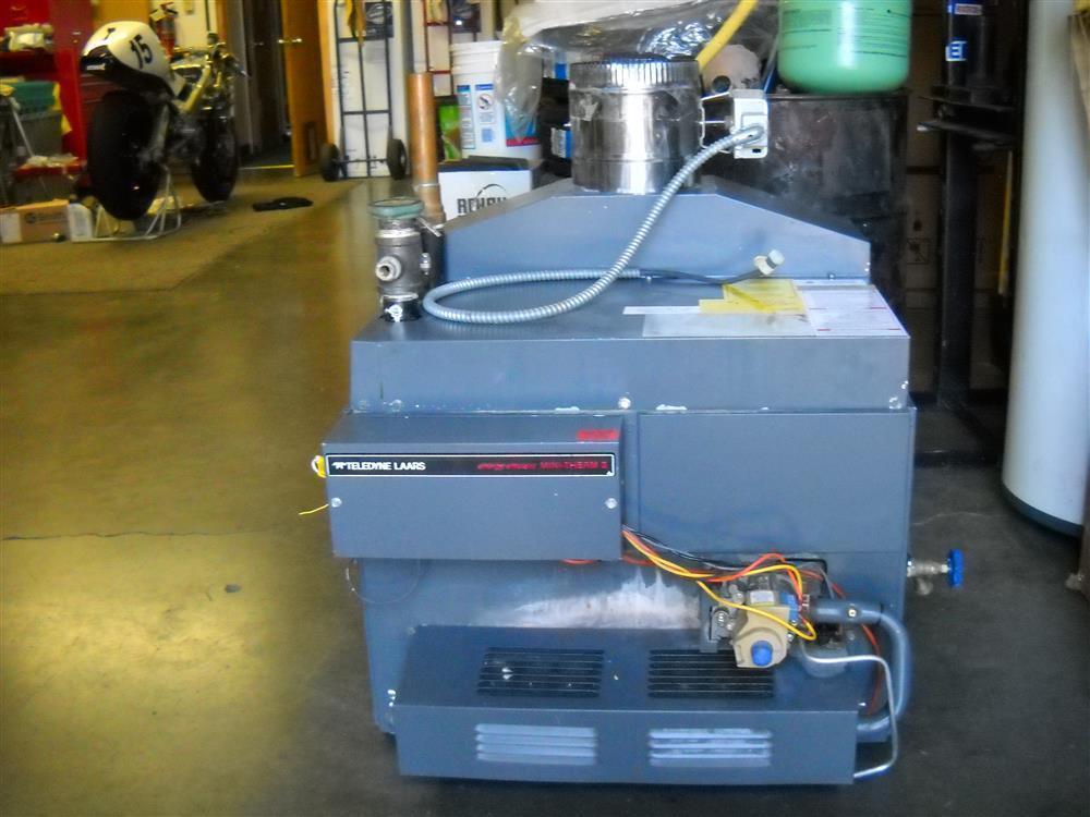 TELEDYNE-LAARS JVS 225 Hot Water Boiler