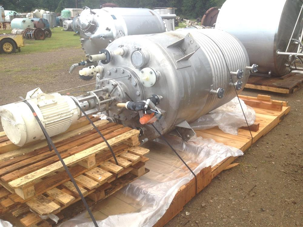 600 Gallon LEE Jacketed Kettle with GREERCO Dispersers