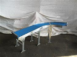 167578 - 90 Degree Gravity Roller Bend Conveyor