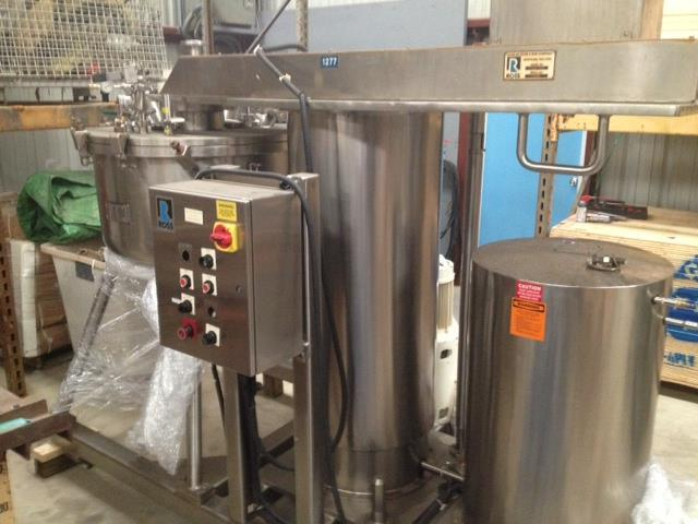 Image 100 Gallon ROSS Model RVMS-100 Pharmaceutical Mixing Reactor 470000