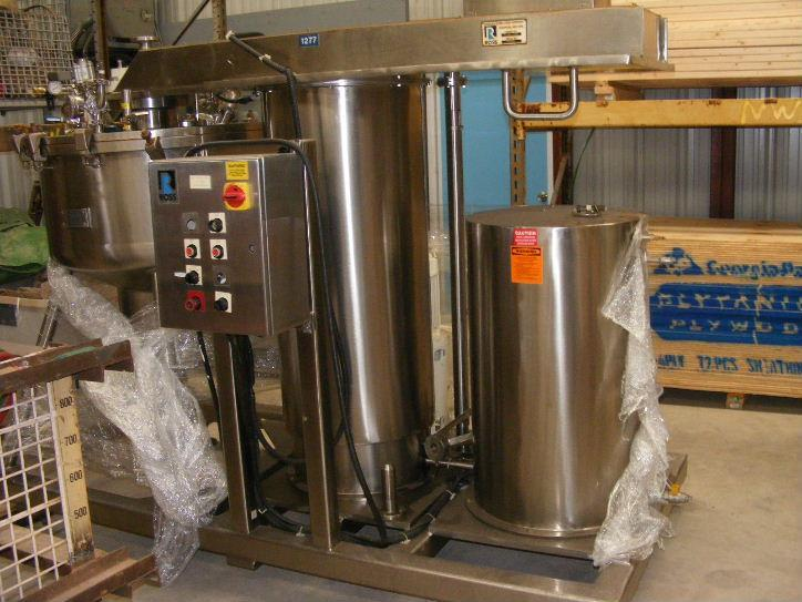 Image 100 Gallon ROSS Model RVMS-100 Pharmaceutical Mixing Reactor 470001
