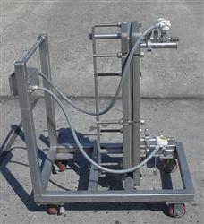 """Image ITT Standard """"Plateflow"""", 10"""" x 30"""" Plate Type Heat Exchanger 474009"""