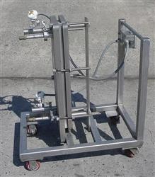 """Image ITT Standard """"Plateflow"""", 10"""" x 30"""" Plate Type Heat Exchanger 474012"""