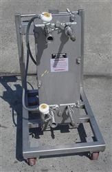 """Image ITT Standard """"Plateflow"""", 10"""" x 30"""" Plate Type Heat Exchanger 474025"""
