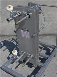 """Image ITT Standard """"Plateflow"""", 10"""" x 30"""" Plate Type Heat Exchanger 474023"""