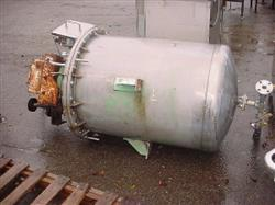 169829 - 120 Gallon Stainless Steel Sweep Tank