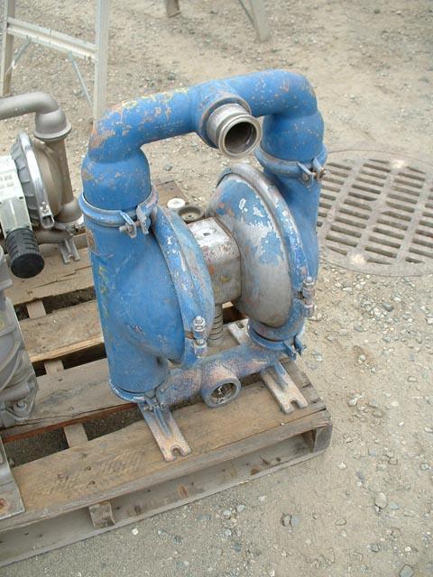 Image WILDEN 316 Stainless Steel Diaphragm Pump 475232