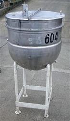 Image 100 Gallon B.H.HUBERT Jacketed Open Top Kettle 479852