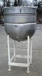 Image 100 Gallon B.H.HUBERT Jacketed Open Top Kettle 479886