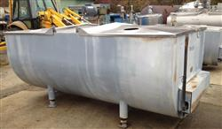 171145 - 1000 Gallon DELAVAL Refrigerated Stainless Steel Tank