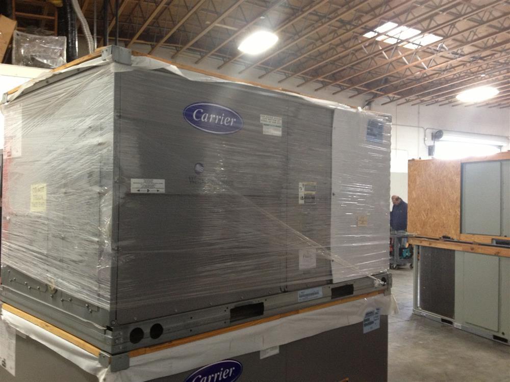 image 5 ton carrier heat pump package unit 481656 - Heat Pump Prices