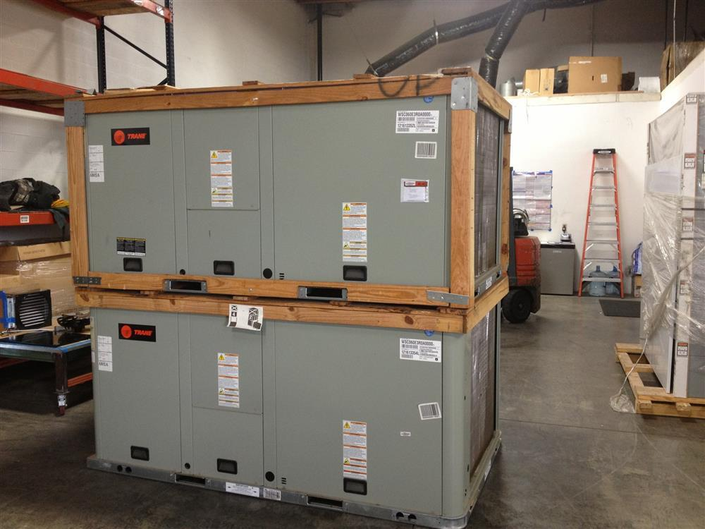5 Ton Trane American Standard Hp Package Unit