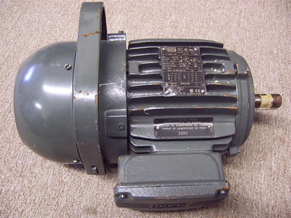 1 hp weg electric motor 171244 for sale used for Used electric motors for sale
