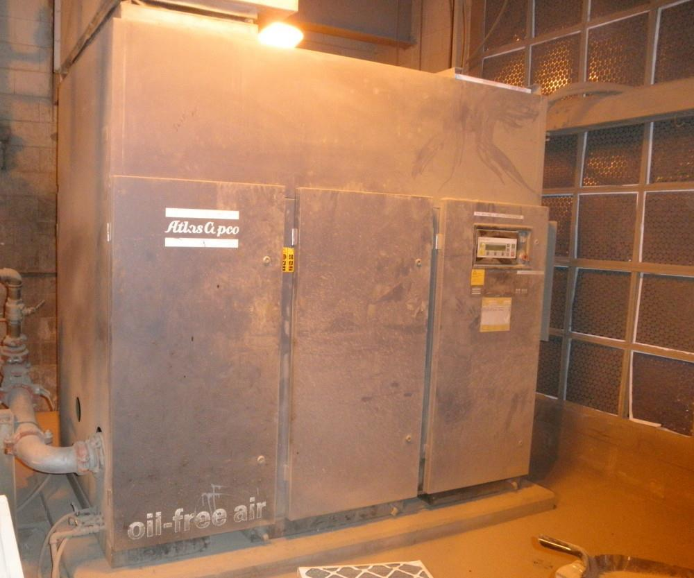 150 HP ATLAS COPCO ZT 110 Air Compressor