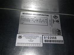 "171375 - 59"" BEVERAGE AIR BB58-1-B Back Bar Refrigerator"