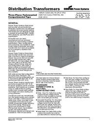 Image COOPER Distribution Transformer 488383