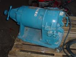 178955 - 2 HP BICO Type UA Iron Alloy Plate Grinder / Pulverizer