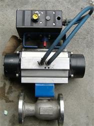 "179568 - 1.5"" JC API 6D & Firesafe Ball Valve w/Actuator & Positioner"