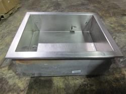 180427 - RANDELL Concession or Bar Ice / Bottle Holding Box with Drain