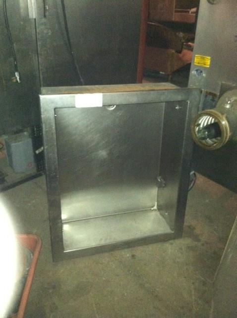Image RANDELL Concession or Bar Ice / Bottle Holding Box with Drain 558260