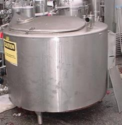 180891 - 150 Gallon PAUL MUELLER Sanitary Stainless Steel Jacketed Tank