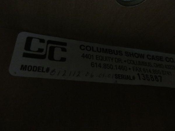 Image COLUMBUS Baked Goods Display Case 500869