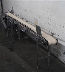 181994 - 11' Length X 8'' X 39'' Height Wide Belt Conveyor