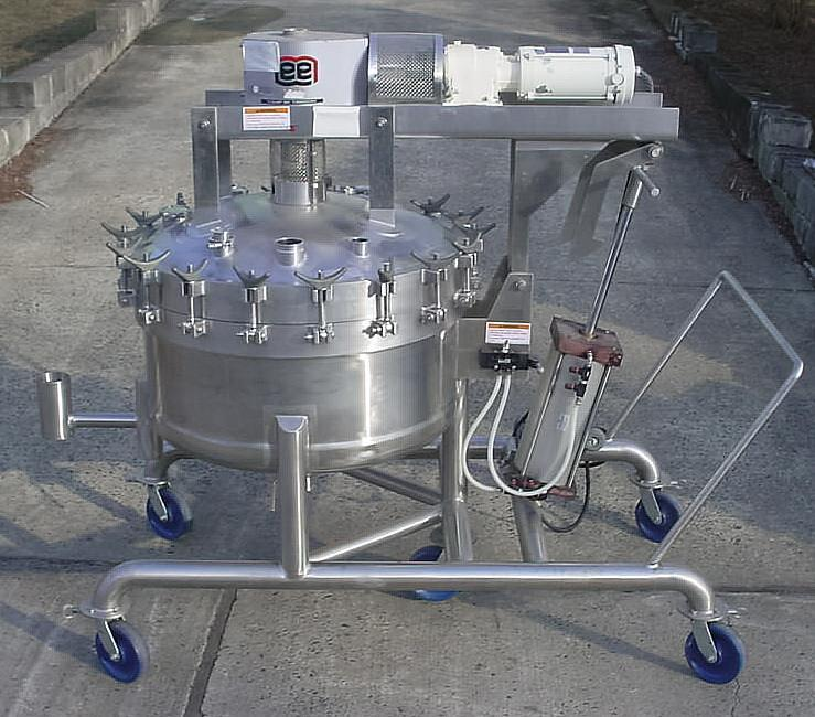 100 Gallon LEE Double Motion Agitated Vacuum Processor