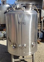 183285 - 300 Gallon DCI INC. Stainless Steel Jacketed Reactor Vessel