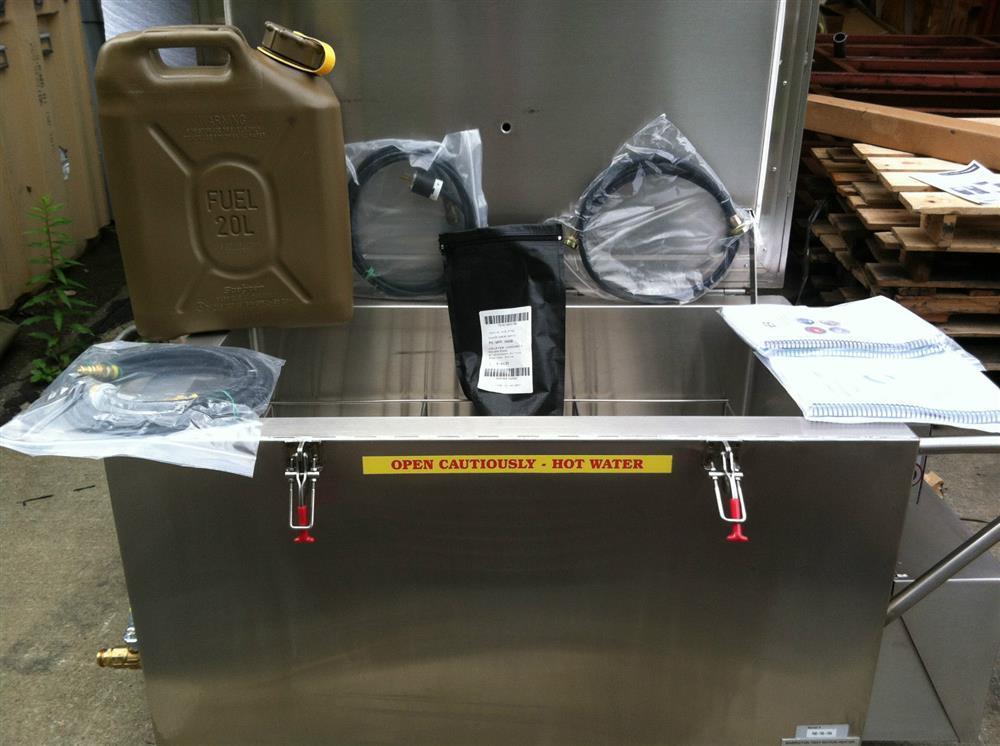 BABINGTON Tray Ration Heater, Multifuel Burner