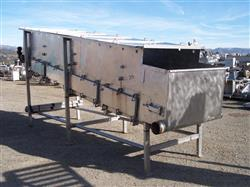184376 - 4' X 16' ROBBINS Cooling Conveyor/Washer