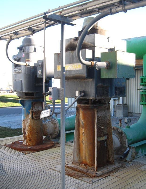 WORTHINGTON QL Double Vertical Turbine Pump