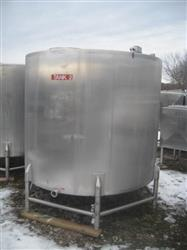 185952 - 1000 Gallon CIP 304 Stainless Steel Tank