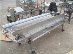 "186020 - 42"" X 118"" Stainless Steel Roller Conveyor"
