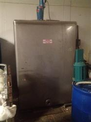 186444 - 1000 Gallon Stainless Steel Square Mixing Tank