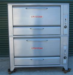 186447 - BLODGETT 966-S Double Stack Deck Oven