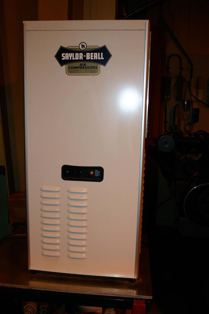 SAYLOR BEALL Dual Horsepower Electric Air Compressor, 3 Phase