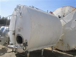 Image 3000 Gallon CE HOWARD Stainless Steel Tank 522772