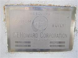 Image 3000 Gallon CE HOWARD Stainless Steel Tank 952720