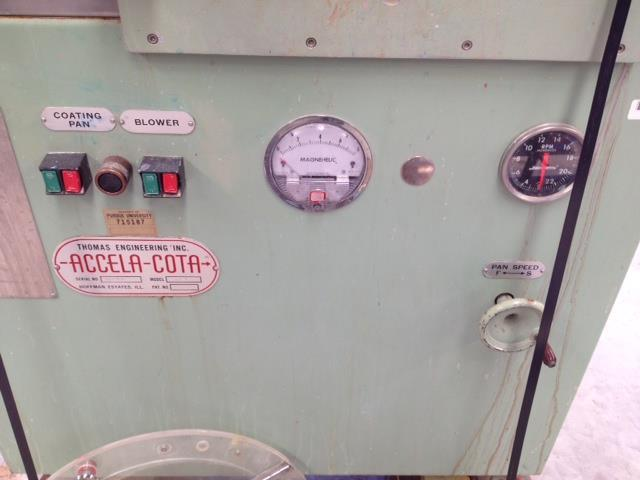 """Image 24"""" THOMAS ENGINEERING Accela-Cota Tablet Coating Pan with Temp Control 523019"""