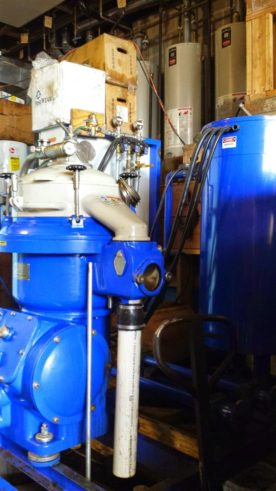 Alfa laval mapx 207 centrif 188082 for sale used for Equipement restaurant laval
