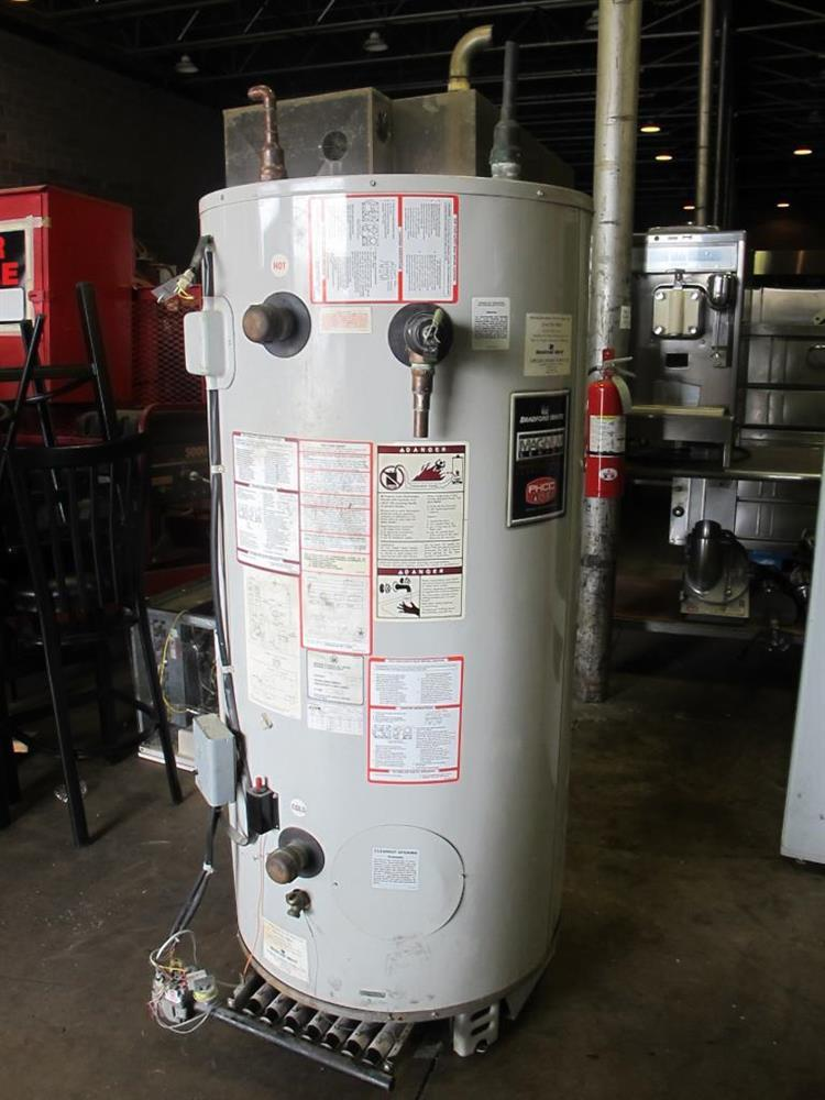 40 Gallon Bradford Hydr 188626 For Sale Used N A
