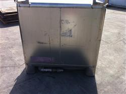 Image 350 Gallon HOOVER GROUP Stainless Steel Tote 531434
