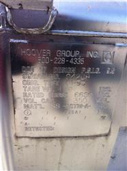 Image 350 Gallon HOOVER GROUP Stainless Steel Tote 531436