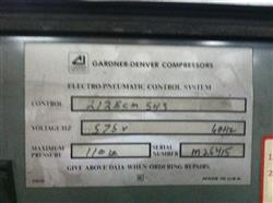 189431 - 100 HP GARDNER DENVER Air Compressor with Air Dryer