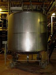 190464 - 5000 Gallon TH 209 Stainless Steel Milk Tank