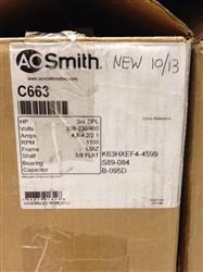 Image A.O. SMITH C663 Condensor Motor, 208-230/480  540687
