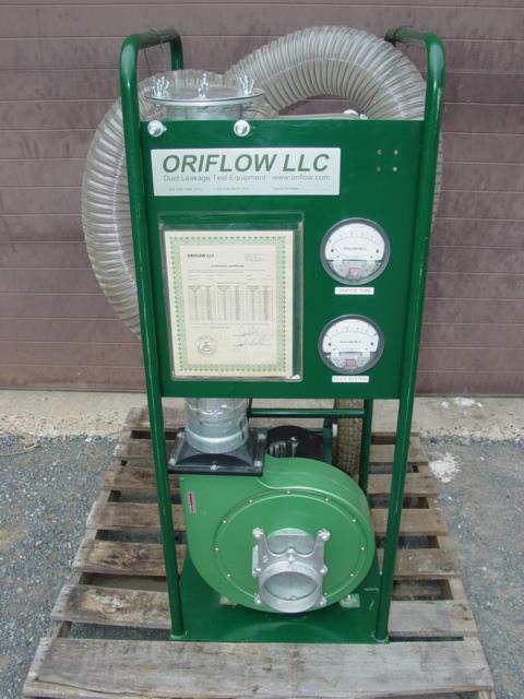 duct leak testing machine