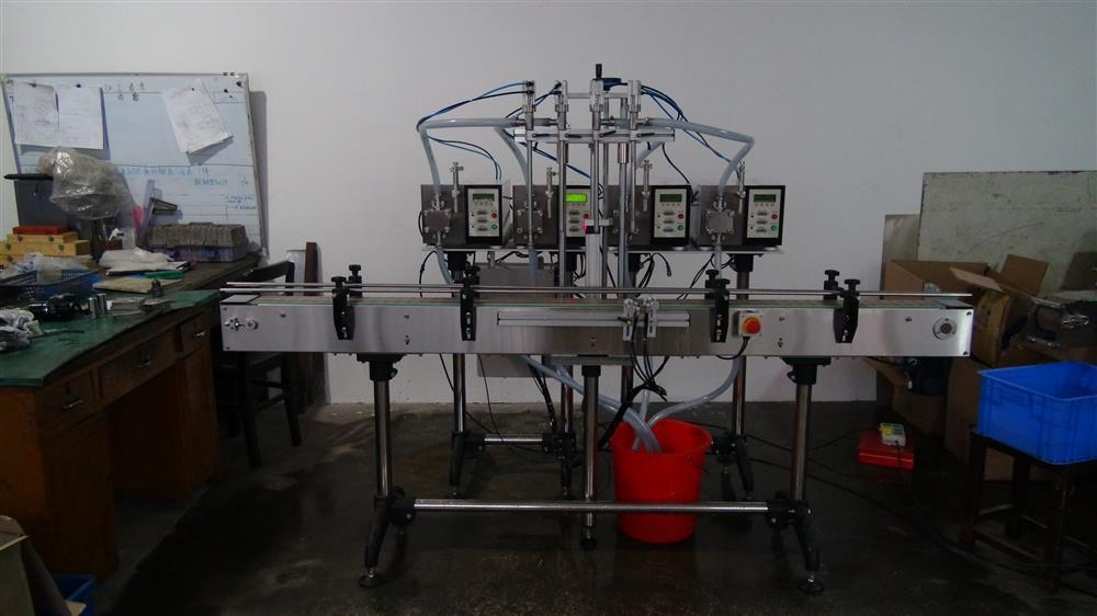 Automatic Four Nozzles Gear Pump Filler